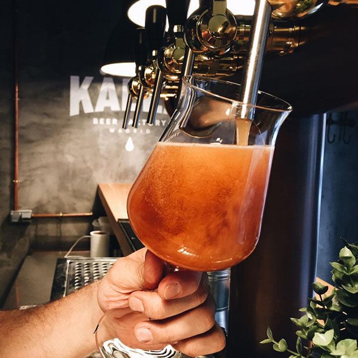 Mejores cervecerias de Madrid Kalla