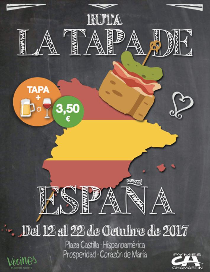 Agenda gastronomica Ruta La Tapa de Espana