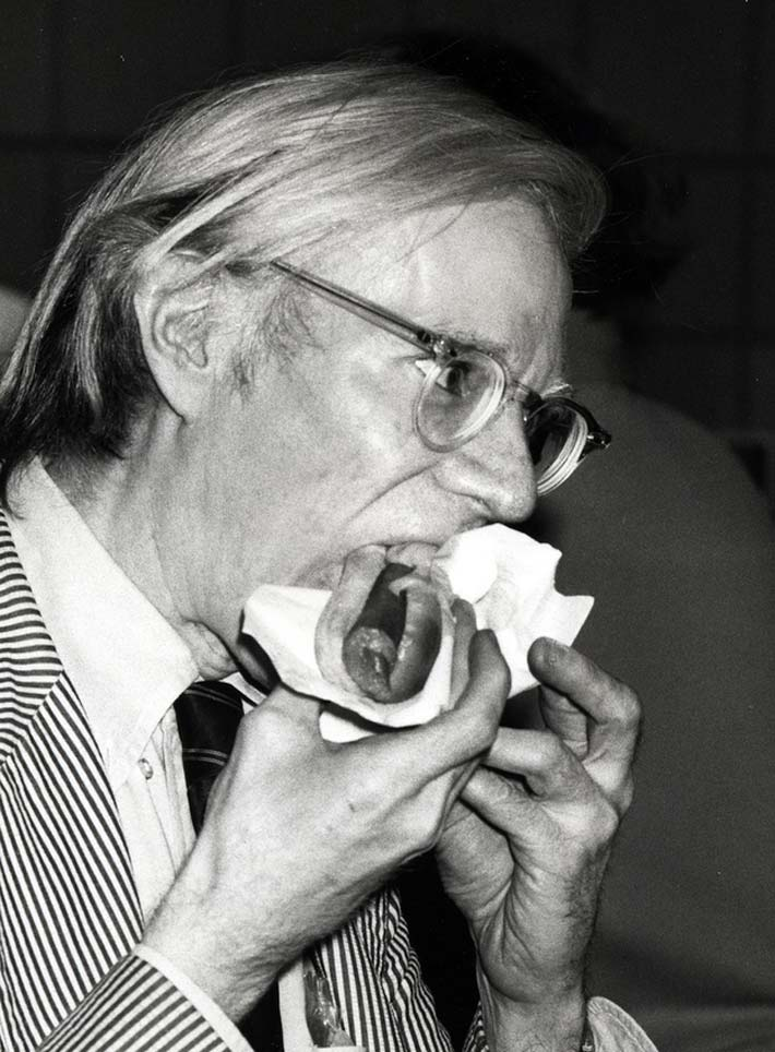 Platos favoritos Andy Warhol