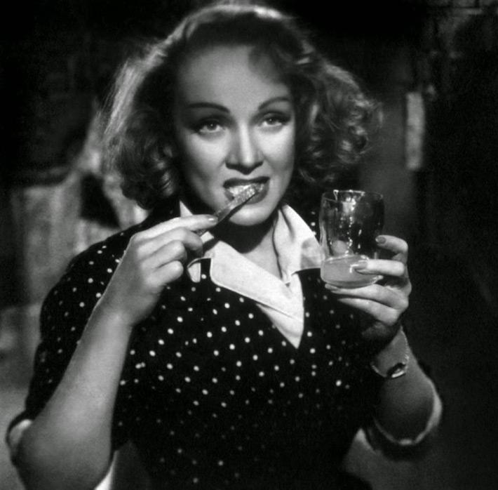 Platos favoritos Marlene Dietrich