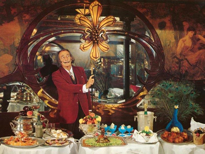 Platos favoritos Salvador Dali