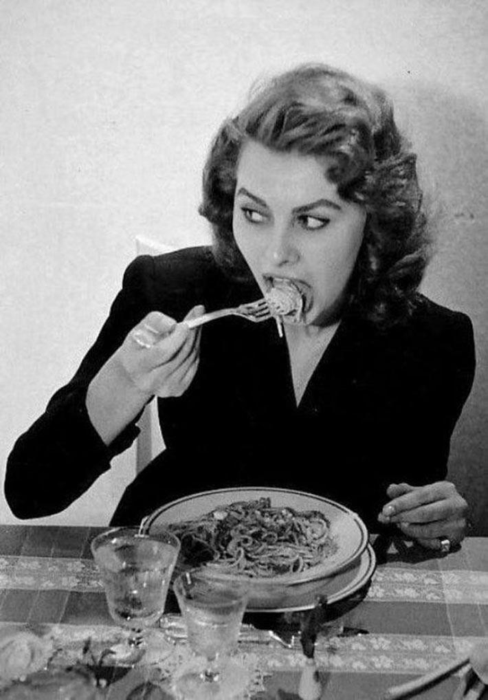Platos favoritos Sofia Loren