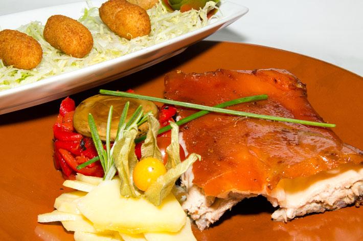 Agenda gastronomica Madrid Semana gastronomica San Sebastian Cerdo