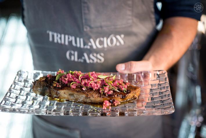 Glass Mar Restaurante Angel Leon Madrid 10