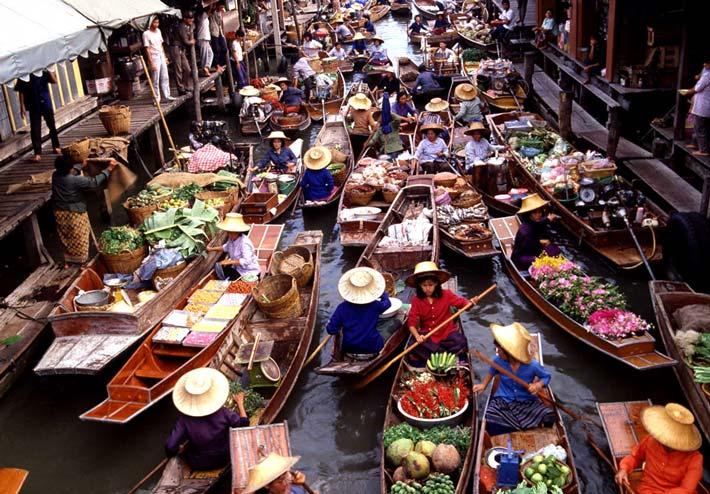 la mejor street food del mundo mercado flotante bangkok
