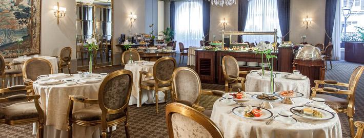 Agenda gastronomica Hotel Wellington