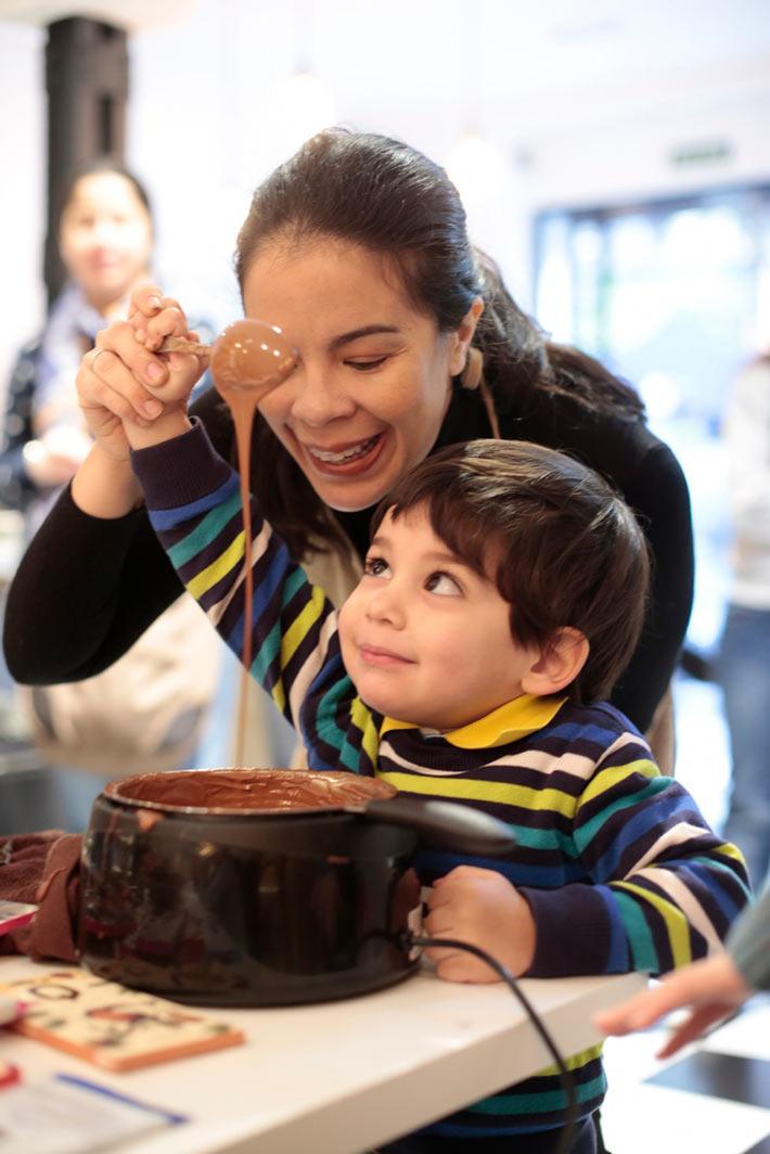 Agenda gastronomica Madrid Helen Lopez Chocolate Taller Apetitoh