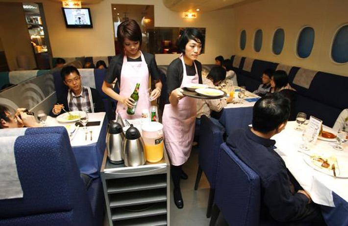 Los restaurantes mas raros del mundo A380 In Flight Kitchen