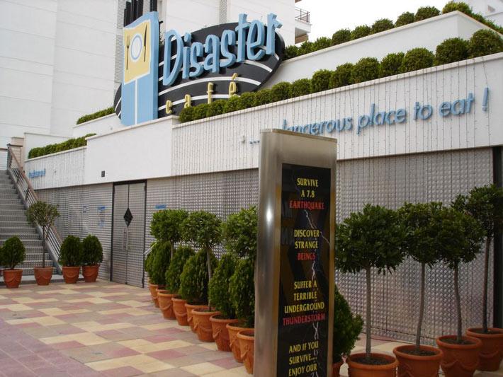 Los restaurantes mas raros del mundo The Disaster Cafe