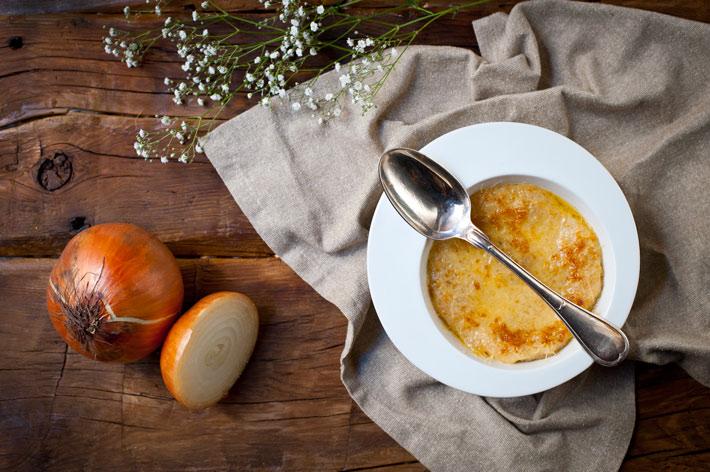 platos de invierno sopa de cebolla el buey
