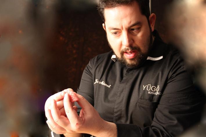 Agenda gastronomica Madrid Juilan Marmol Okasan