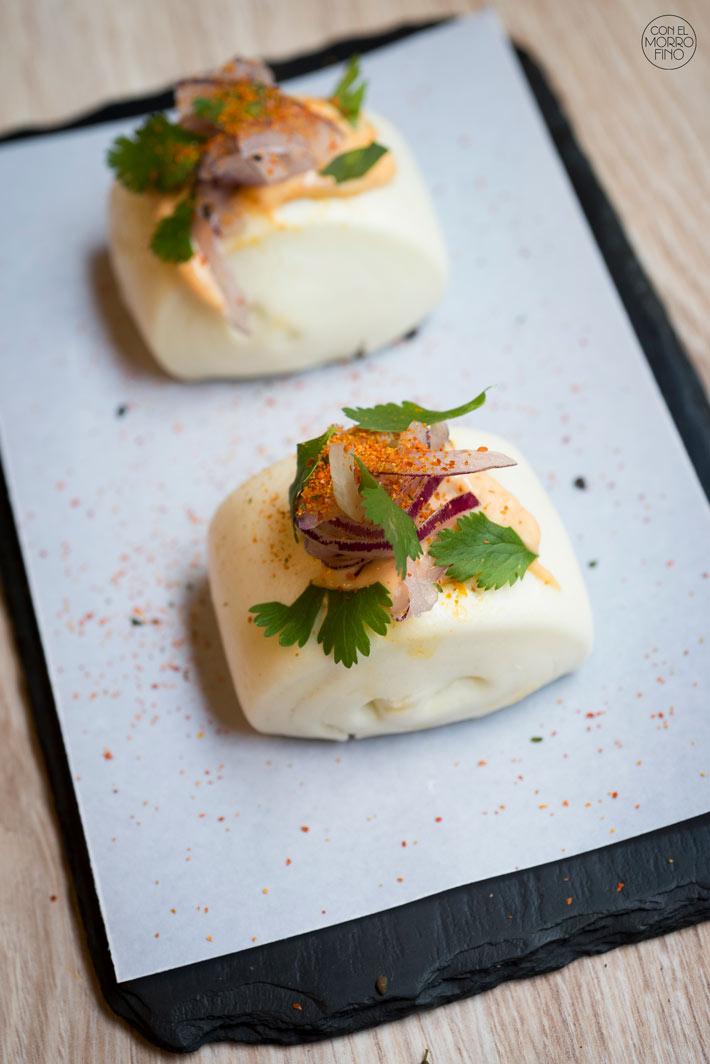Comer con las manos en Madrid Bao La Gastro Salvaje
