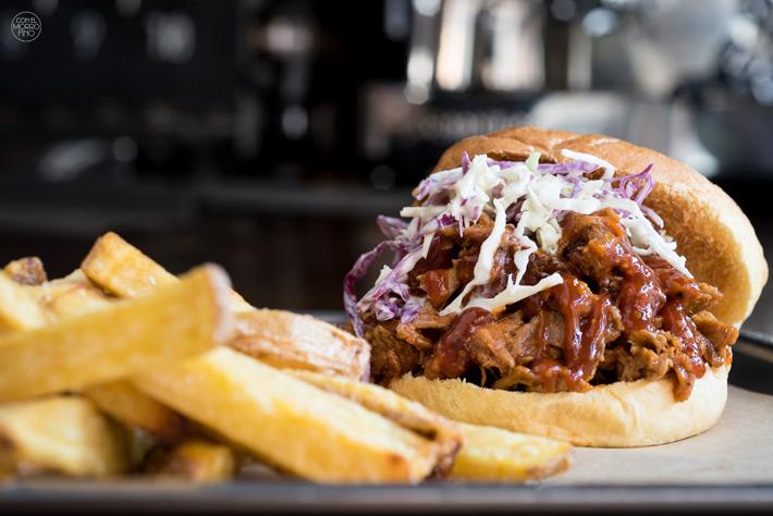 Comer con las manos en Madrid Pulled Pork Jimbo