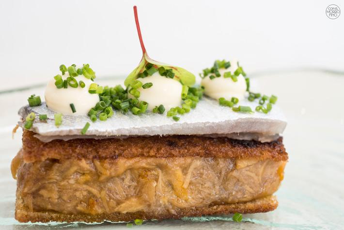 Comer con las manos en Madrid Sandwich El Ingrediente