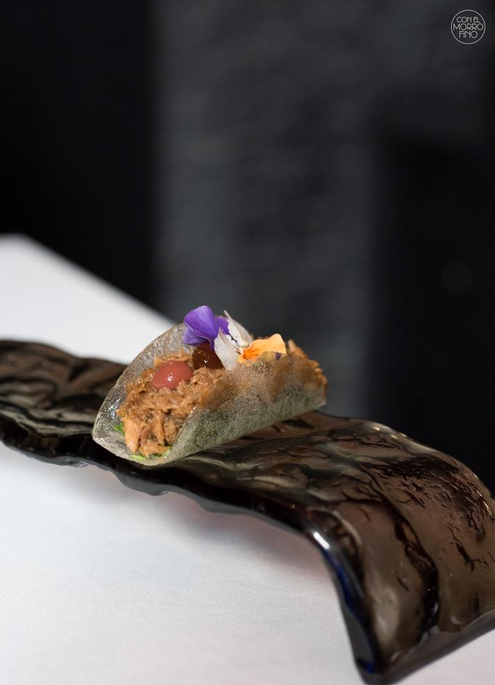Comer con las manos en Madrid Taco obulato 47 Ronin