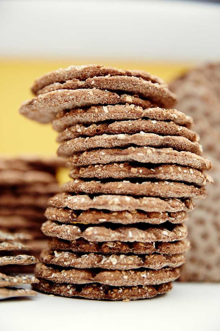 Tipos de pan knackebrod Suecia