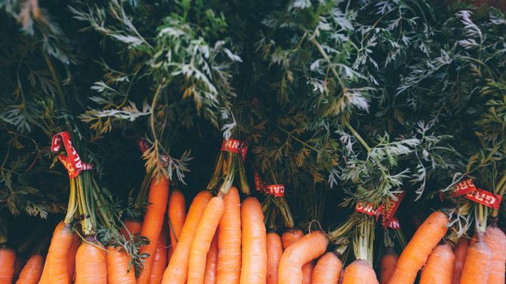 alimentos antioxidantes zanahorias