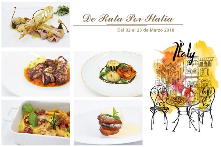 Agenda gastronomica de Madrid Ruta Por Italia