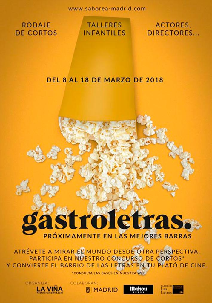Agenda gastronomica Madrid Gastroletras 2018
