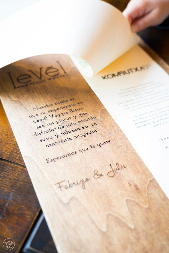 Level Veggie Bistro Restaurante Madrid 01