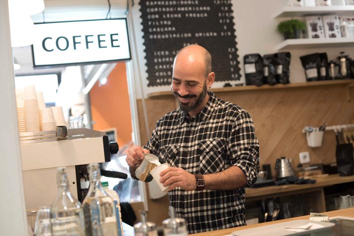 los mejores coffee shops de Madrid randall