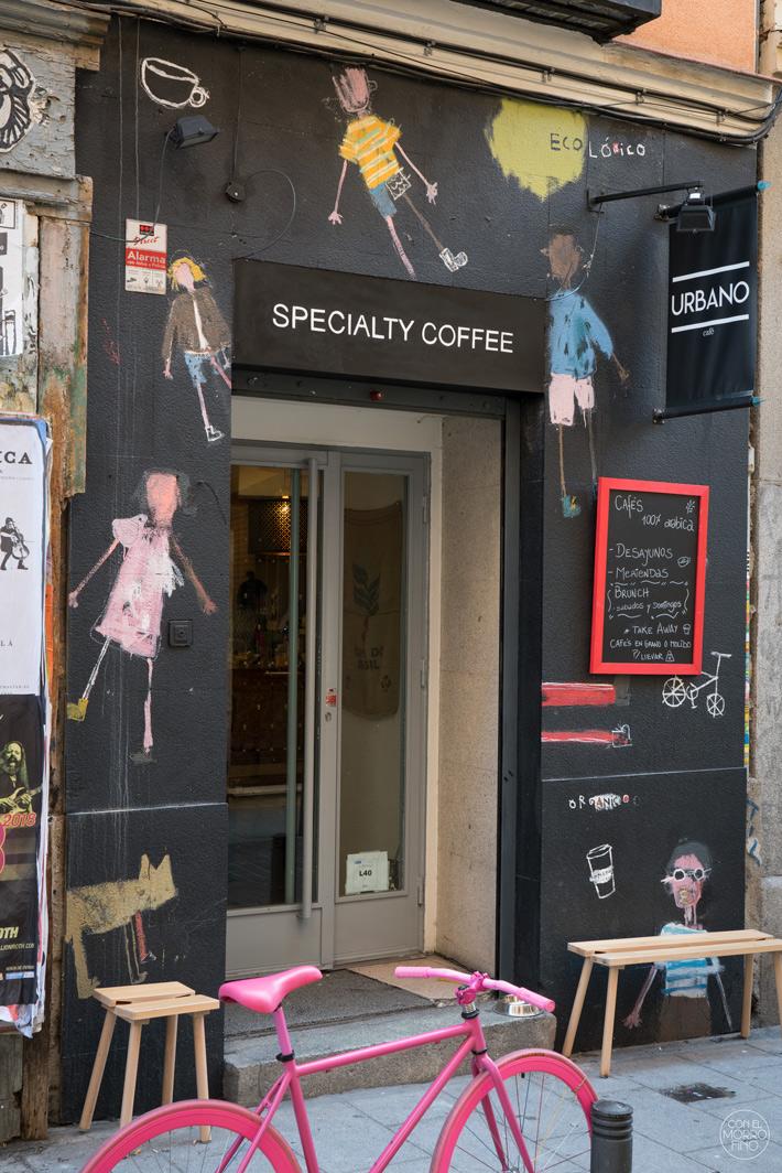 los-mejores-coffee-shops-de-Madrid-urbano specialty coffee