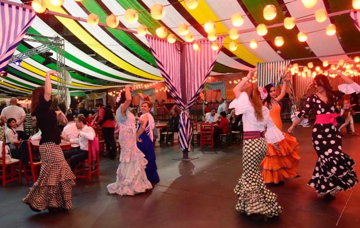 Agenda gastronomica Madrid Wizink Feria Abril