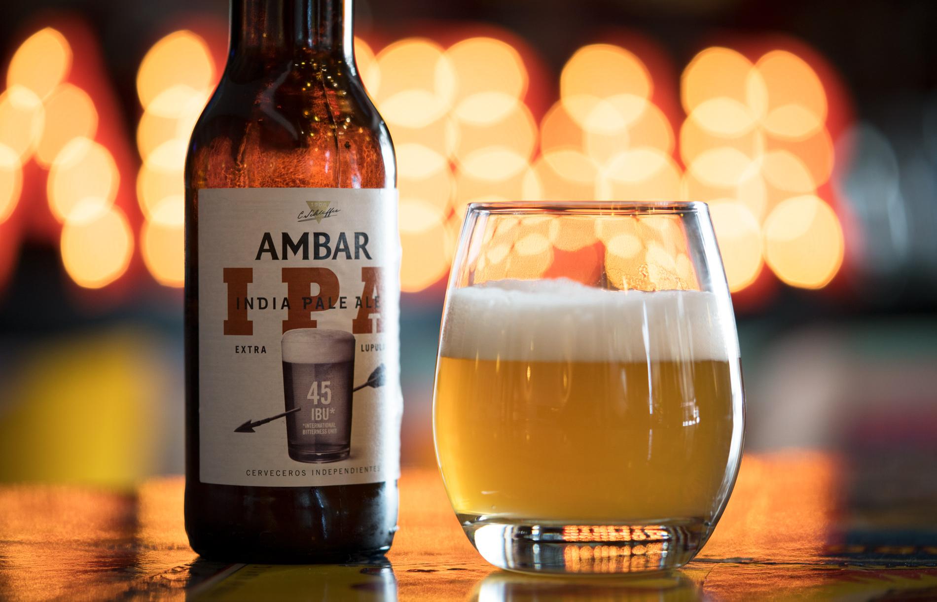 Cervezas Ambar estrena IPA, con extra de lúpulo y de sabor
