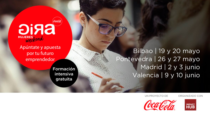 Agenda gastronomica Madrid Gira Mujeres Weekend Coca Cola