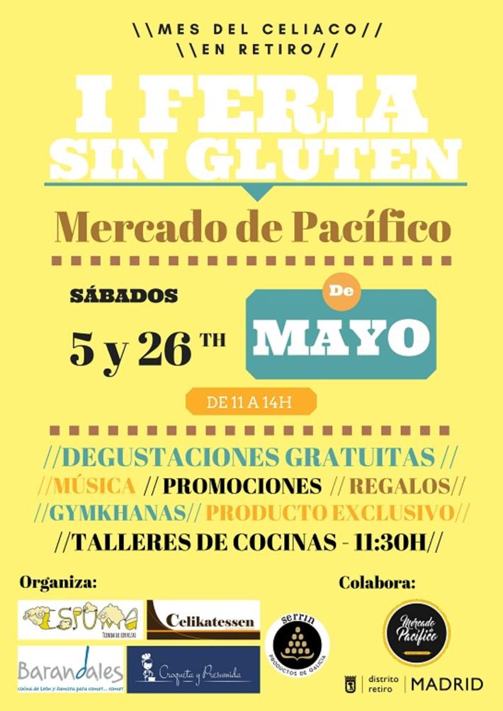 Agenda gastronomica Madrid I Feria sin Gluten