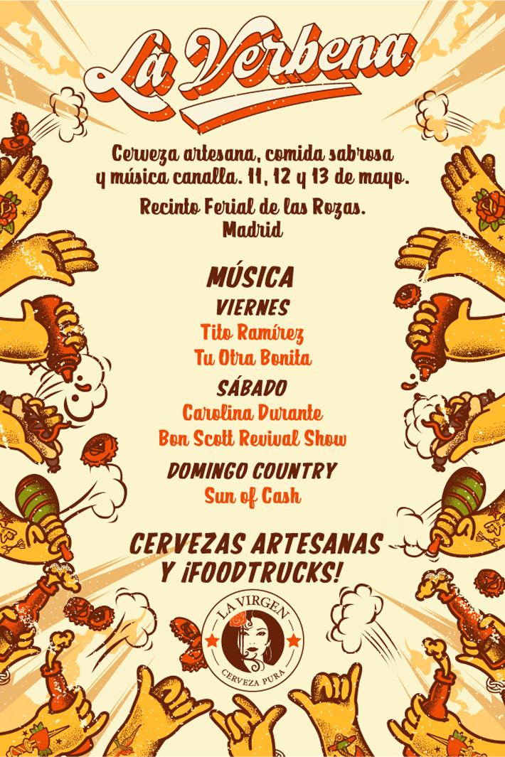 Agenda gastronomica Madrid La Verbena La Virgen