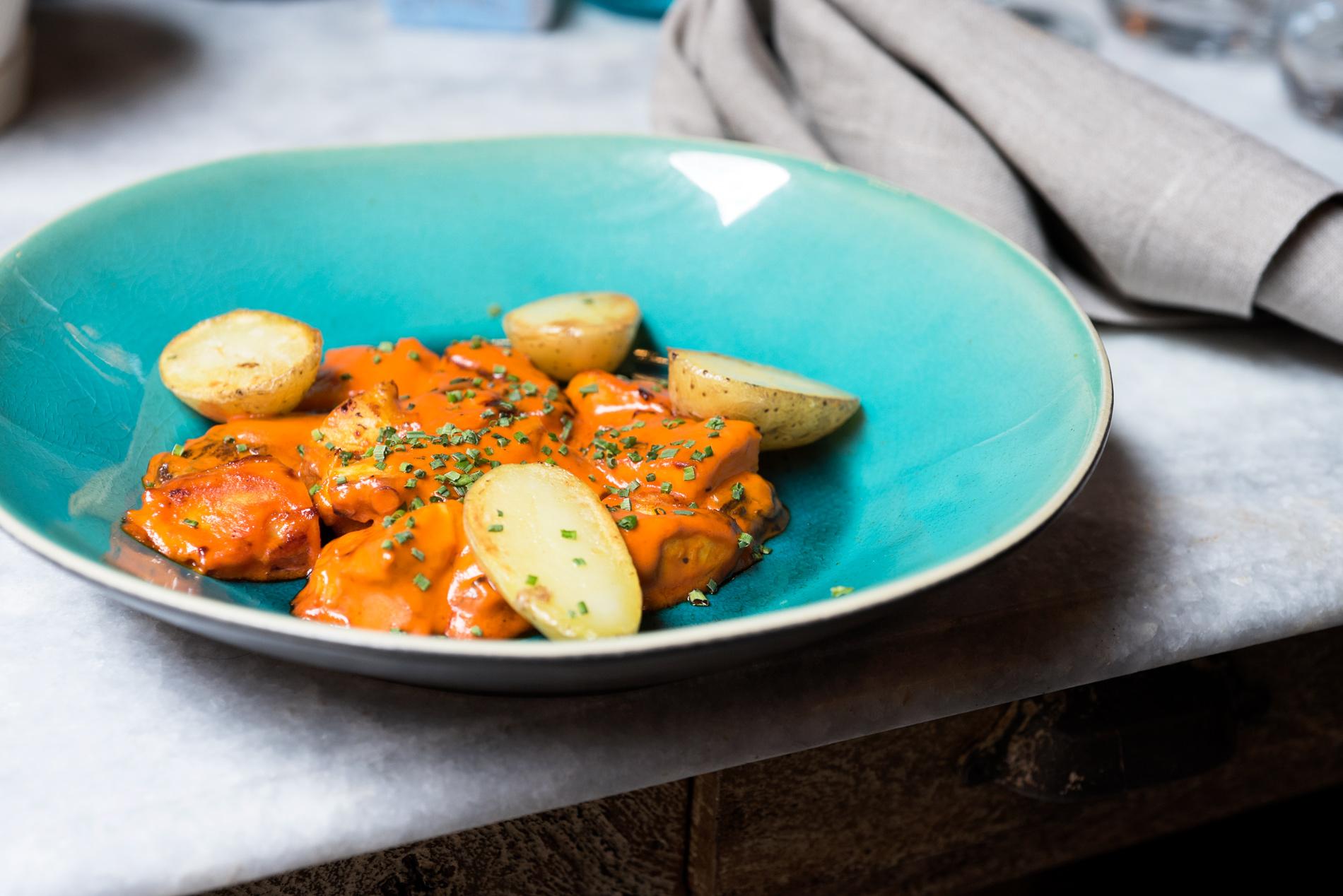 Taberna Del Loco Antonelli, cocina del puerto de Madrid