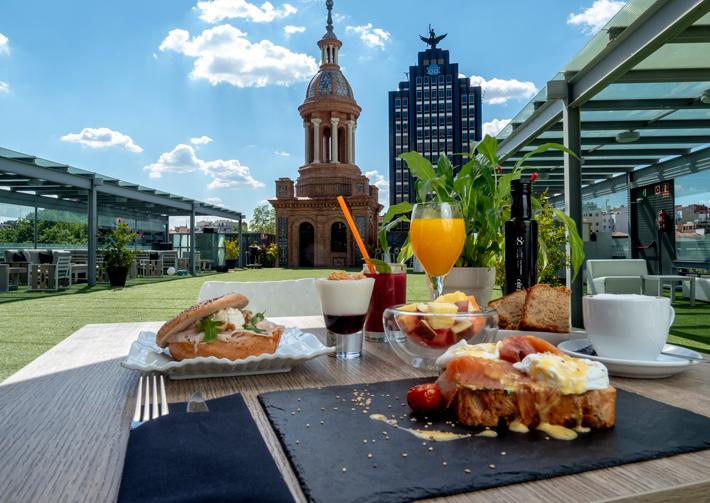 Agenda gastronomica Madrid Brunch Reebook Sport Club Pedro Larumbe