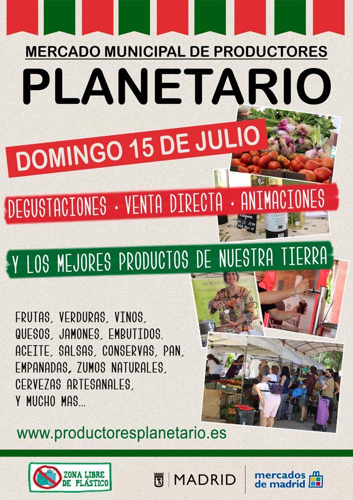 Agenda Gastronomica Madrid Mercado Productores PLANETARIO
