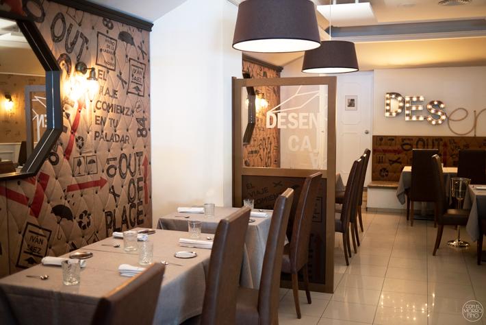 Desencaja Restaurante Madrid 01