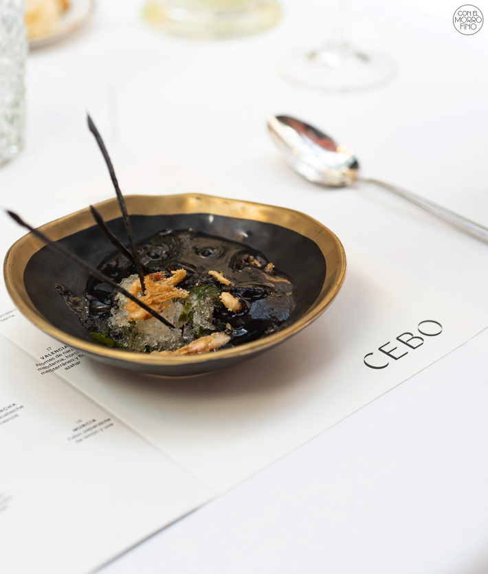 Restaurante Cebo Madrid Menu Degustacion 01
