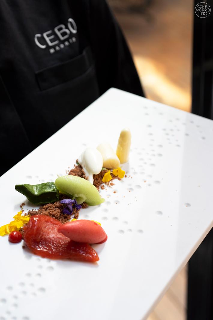 Restaurante Cebo Madrid Menu Degustacion 16