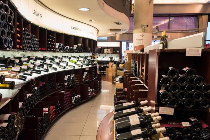 mejores tiendas de vinos de Madrid Lavinia