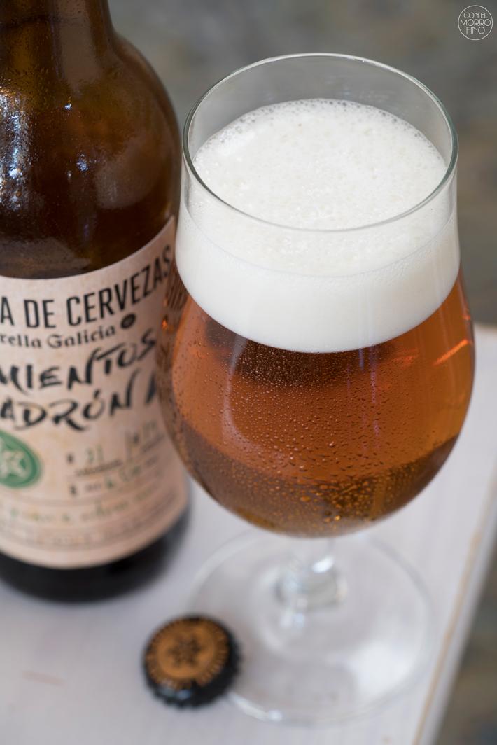 Estrella Galicia Cerveza con Pimientos de Padron 03
