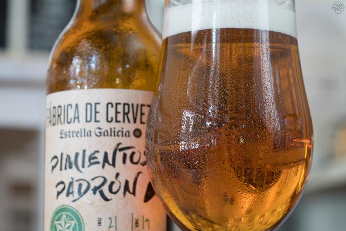 Estrella Galicia Cerveza con Pimientos de Padron 04