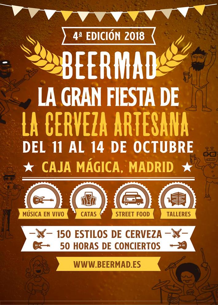 Agenda gastronomica Madrid BEERMAD