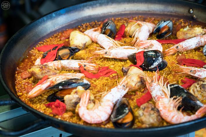 Agenda gastronomica Madrid Mercado San Miguel Paella Rodrigo de la Calle