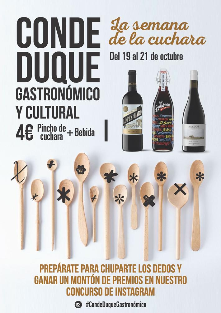 Agenda gastronomica Madrid Semana de la cuchara Conde Duque