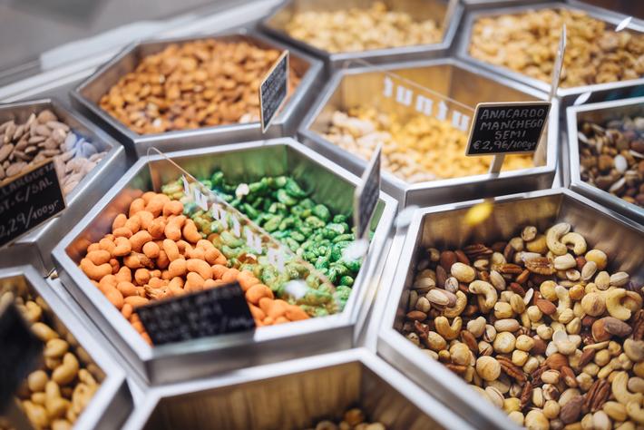 Agenda gastronomica Madrid Tienda frucos secos Nutnut