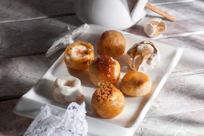 Agenda gastronomica Madrid bunuelos Nunos Pasteleria