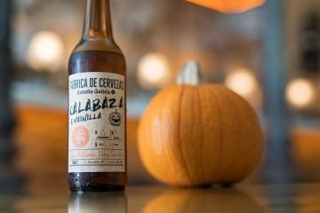 Estrella Galicia Cerveza Calabaza Portada