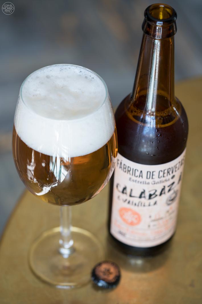 Estrella Galicia Cerveza con Calabaza 03