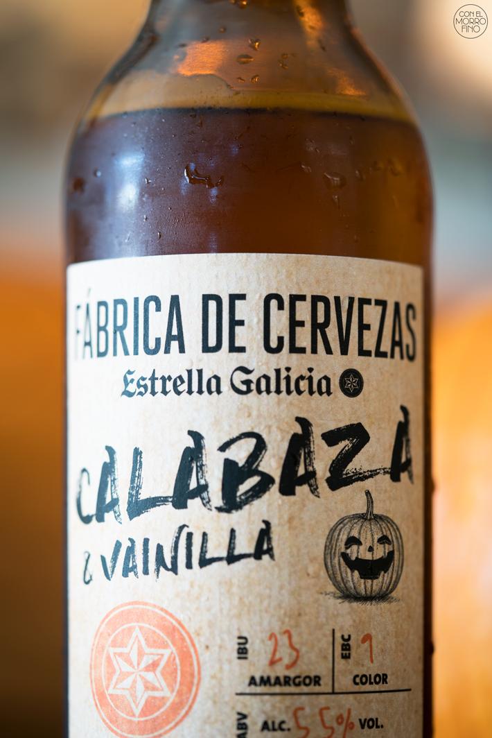 Estrella Galicia Cerveza con Calabaza 05