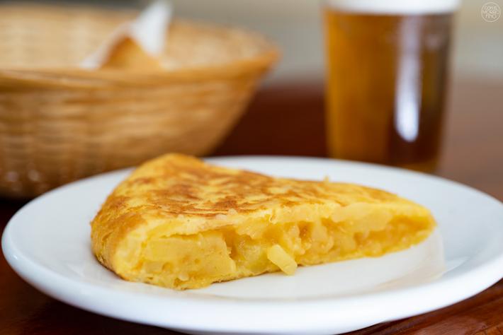 Las mejores tortillas de patatas de Madrid Cerveriz