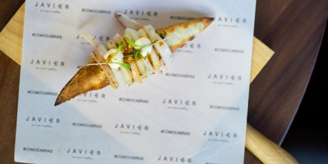 Restaurante La Cabra Javier Aranda Madrid Portada